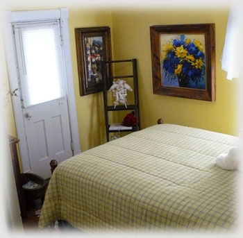 Pearl Tatman House Yellow Bedroom